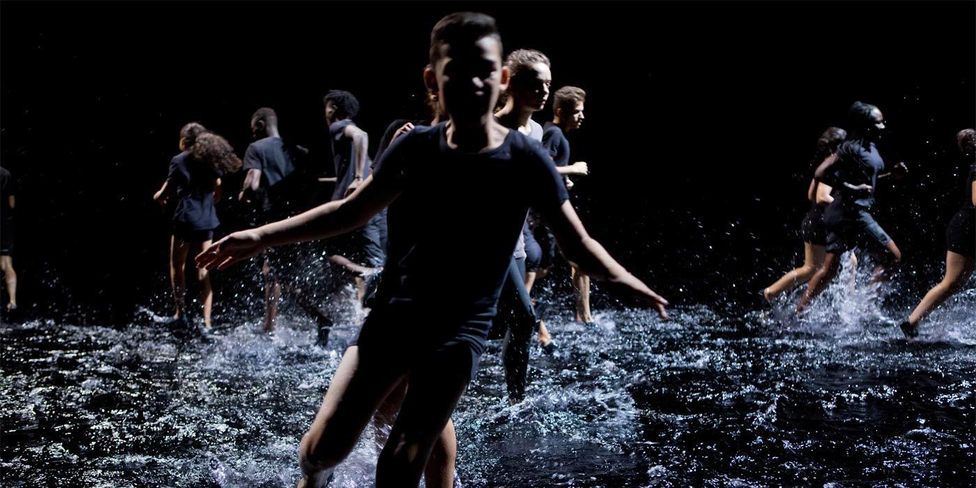 Franchir la nuit - chorégraphie Rachid Ouramdane